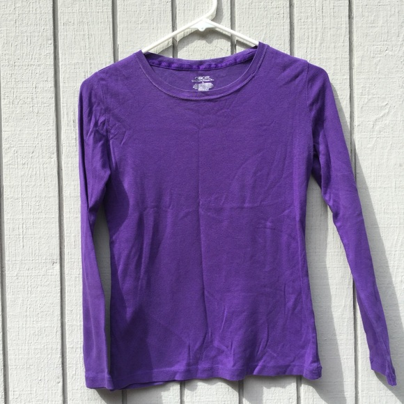 Cherokee Other - Cherokee kids purple long sleeved tee